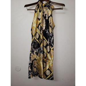 Veronicam  Print Dress, size L